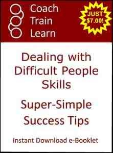 Difficult People Skills Super-Simple Success Tips